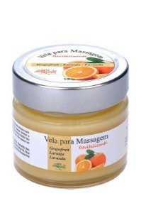 Vela para Massagem Revitalizante 100g- Grapefruit