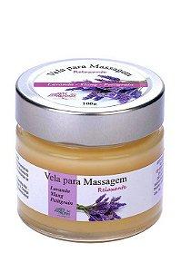 Vela para Massagem Relaxante 100g- Lavanda