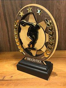Troféu Madeira MDF Cursos - Educação física