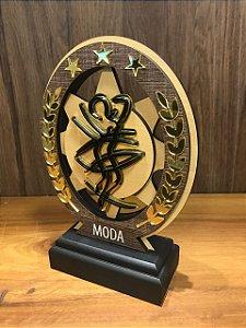 Troféu Madeira MDF Cursos -  Moda