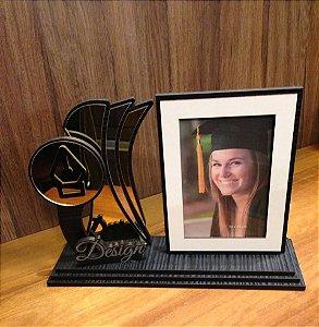 Porta Retrato com Troféu-  Design