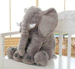Elefante Travesseiro 60x75 - Cinza