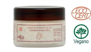 Creme Hidratante Facial ecocert 50g- Copaiba e copuaçu