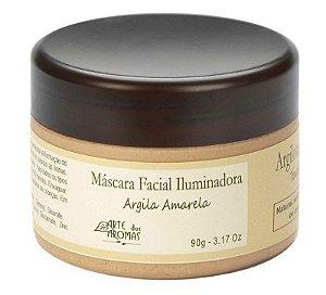 Máscara Facial Iluminadora 90g- Argila Amarela