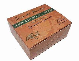 Sais de banho 12 unidades - Lemongrass, menta e alecrim