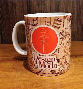 Caneca Cerâmica - DESIGN DE MODA