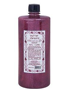 Refil Sabonete em gel 1L- Wine Desire merlot