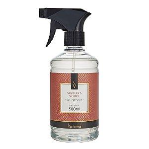 Água Perfumada Para Tecidos Via Aroma 500ml - Madeira Nobre