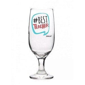 Taça Floripa+ chaveiro almofada com tubete- #best teacher