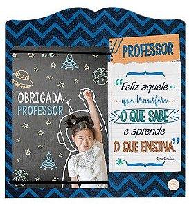 Porta Retrato com elástico MDF 10x15- Professor....