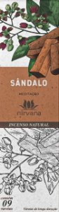 Incenso Natural 9 varetas Nirvana - Sândalo