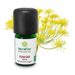 Óleo Essencial Puro 5ml -  Funcho Doce natural