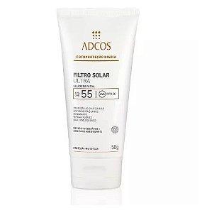 ADCOS Bloqueador Solar Ultra FPS 55 Gel Creme - 50 g