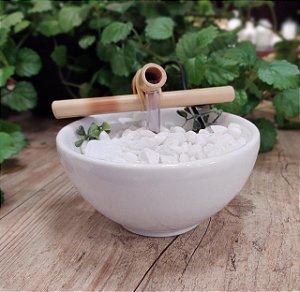 Fonte cerâmica Bowl 8cm - Branca