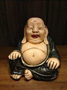 Buda Monge chinês sentado