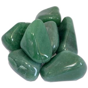 Pedra polida- QUARTZO VERDE