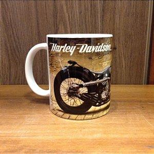 Caneca Cerâmica - Harley Davison Moto