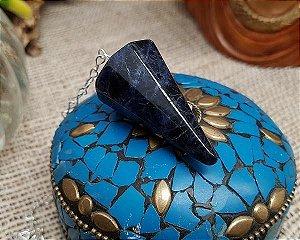 Pêndulo de Pedra - Sodalita