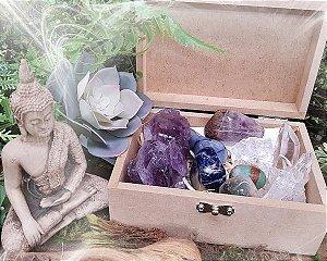 Caixa 9 Pedras - Meditação