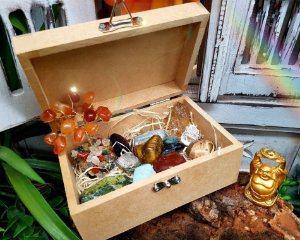 caixa 12 pedras - Prosperidade