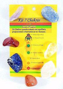 Kit Pedras 7 Chakras - grande