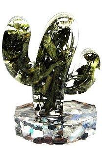 Orgonite Fitoenergética Cactus - Arruda