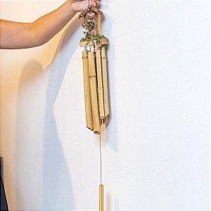 Sino de Bambu Rustico