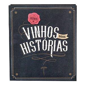 Kit de vinho - Bons vinhos boas historias