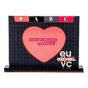 Porta Retrato Dicionario - Eu & Vc definição de amor