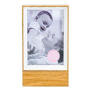 Porta Retrato madeira LED - Lar é onde o amor está