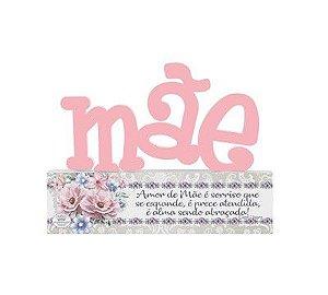 Madeirinha Mãe- ...amo de mãe é sorriso