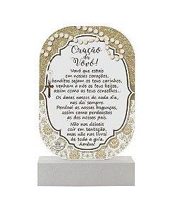 Madeirinha de mesa - Oração da Vovó