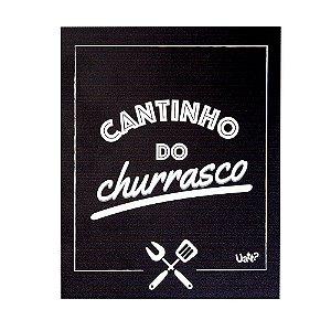 Placa decorativa - Cantinho do Churrasco