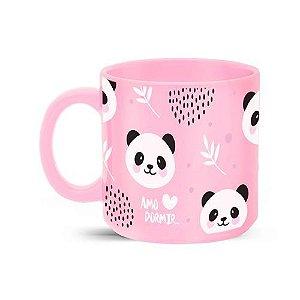 Caneca 360ml Cores Diversas - Amo Dormir Panda