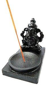 Incensário preto - Ganesha