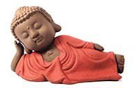 Buda Deitado - Vermelho