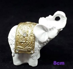 Elefante branco com strass