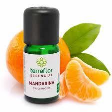 Óleo Essencial Puro 10ml - Mandarina