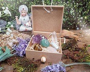 Caixa 6 Pedras Proteção para Crianças