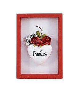 Quadro mini Nicho vermelho - Família