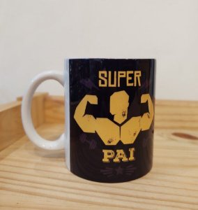 Caneca Cerâmica - Super Pai