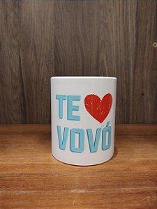 Caneca Cerâmica - Te amo Vovó