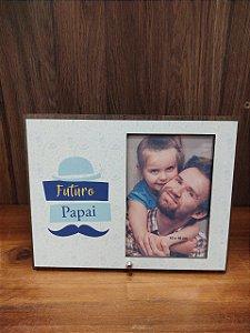 Porta Retrato Mdf/ tecidos - Futuro Papai