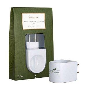 Aromatizador Elétrico Porcelana Via Aroma - Aromaterapy