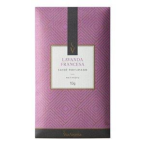 Sachê Perfumado Via Aroma 10g - Lavanda Francesa