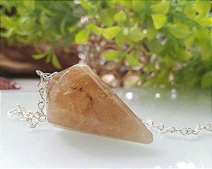 Pêndulo de Pedra - Citrino