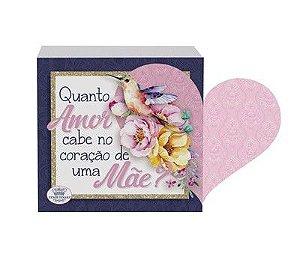 Madeirinha com coração - Quanto amor cabe.. Mãe