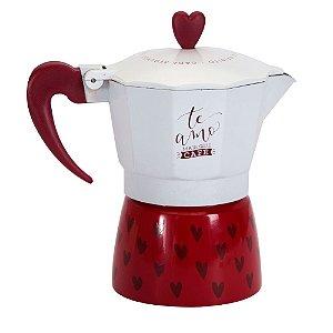 Cafeteira Italiana - Te amo mais que café