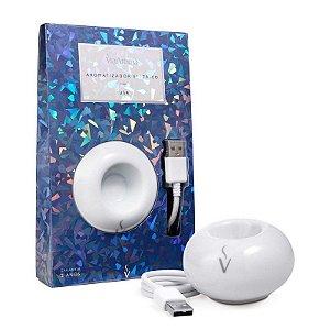 Aromatizador Elétrico Porcelana Via Aroma USB