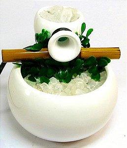 Fonte cerâmica pocinho com 1 queda